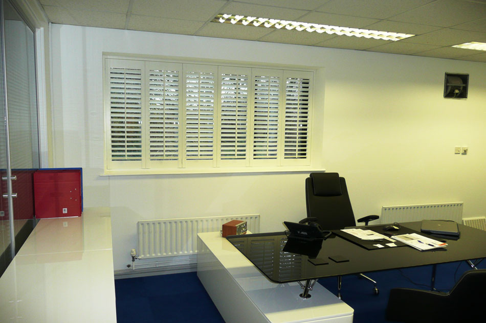 Shutter for the Office and Workplace